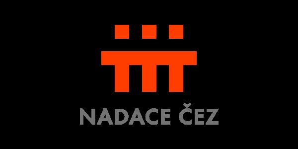 Logo hlavního partnera Klubu cystické fibrózy - Nadace ČEZ