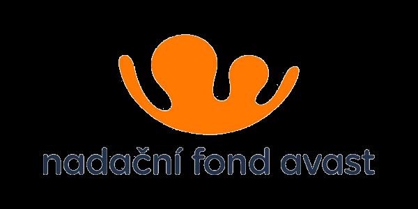 Logo hlavního partnera Klubu cystické fibrózy - Nadačního fondu Avast.