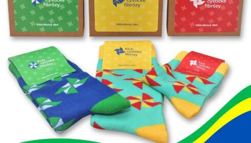 ponožky, e-shop, větrníková párty, Klub CF